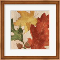 Fall Leaves Square 2 Fine Art Print