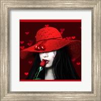 Red Hot Babette Fine Art Print