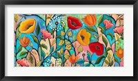 Garden Party V Fine Art Print