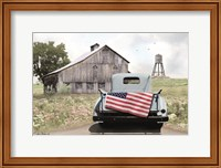 American Tailgating Fine Art Print