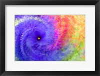 Abstract Flowers in a Twirl Fine Art Print