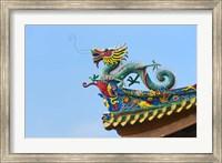 Dragon Sculpture, South Putuo Temple, Xiamen, Fujian Province, China Fine Art Print