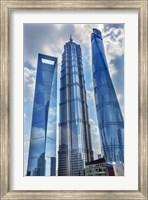 Liujiashui Financial District, Shanghai, China Fine Art Print