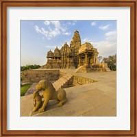 Hindu Temples at Khajuraho, India Fine Art Print