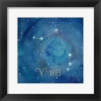 Star Sign Aries Fine Art Print