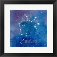 Star Sign Sagitarius Fine Art Print
