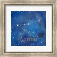 Star Sign Capricorn Fine Art Print
