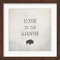 Home on the Range Fine Art Print