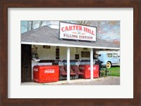 Filling Station Fine Art Print