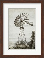 Windmill Waterpump Fine Art Print