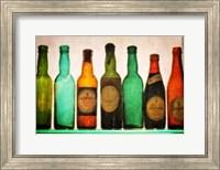 Vintage Guiness Bottles Fine Art Print