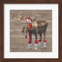 Warm in the Wilderness Moose Fine Art Print