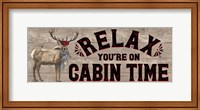 Warm in the Wilderness Relax Sign Fine Art Print