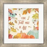 Falling for Fall III Fine Art Print