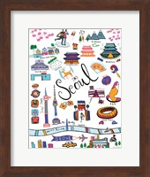 Travel Seoul Fine Art Print