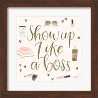 Boss Ladies VII Pink Fine Art Print