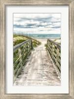 Seaside Entry Fine Art Print