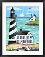 Lighthouse Beach Fine Art Print