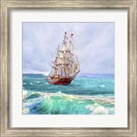 Sailing The Ocean Fine Art Print