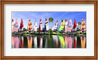 Sailing Boat Port Fine Art Print