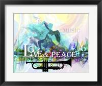 Love And Peace 2 Fine Art Print