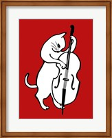 Jazz Cat Fine Art Print