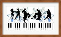 Keyboard Dance Fine Art Print