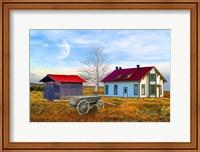 Red House Farm Fine Art Print