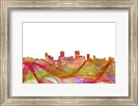 Anchorage Alaska Skyline - Summer Swirl Fine Art Print