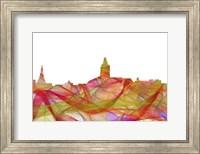 Annapolis Maryland Skyline - Summer Swirl Fine Art Print