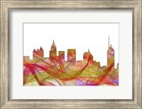 Atlanta Georgia Skyline - Summer Swirl Fine Art Print