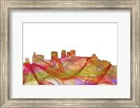 Birmingham Alabama Skyline - Summer Swirl Fine Art Print