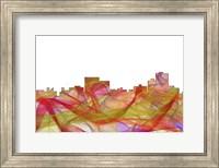 Chatanooga Tennessee Skyline - summer Swirl Fine Art Print