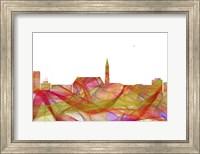 Cheyenne Wyoming Skyline   - Summer Swirl Fine Art Print