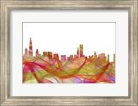 Chicago Illinois Skyline - Summer Swirl Fine Art Print