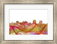 Colorado Springs Colorado Skyline - Summer Swirl Fine Art Print