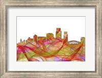 Corpus Christi Texas - Summer Swirl Fine Art Print