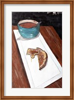 Grilled Cheese And Tomato Soup Fine Art Print