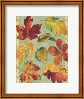 Welcome Leaves Fine Art Print