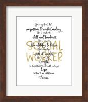 Social Worker Prayer Fine Art Print