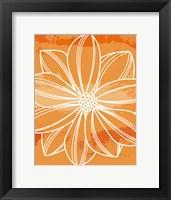 Flower Outline II Fine Art Print