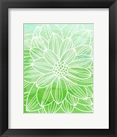 Flower Outline III Fine Art Print