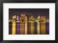 Rainbow in Boston Harbor Fine Art Print
