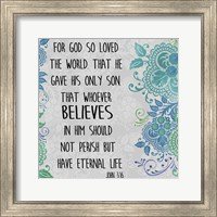 Paisley Bible Verse - A Fine Art Print