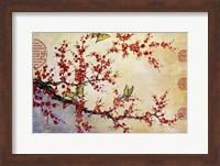 Butterfly Blossoms - Asian Fine Art Print