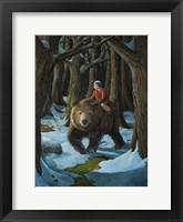 Ellen and the Bear Fine Art Print