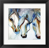 3 Nobles Equine Abstract Fine Art Print