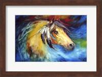Blue Thunder War Pony Fine Art Print