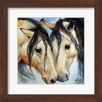 Buckskin Friends Fine Art Print