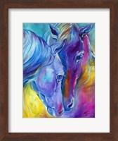 Color My World With Horses Loving Spirits Fine Art Print